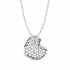 Silver Heart Pendants