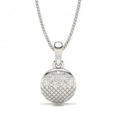 Pave Setting Diamond Designer Pendant