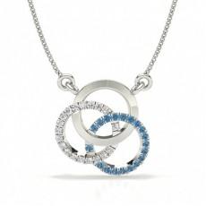 Pear Diamond Pendants
