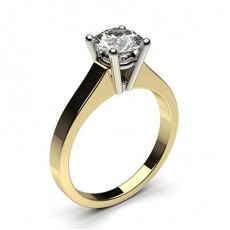 4 Prong Setting Medium Engagement Ring - CLRN1_02