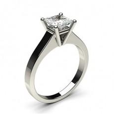 Bague de fiançailles standard solitaire diamant serti 4 griffes rondes - CLRN1_02