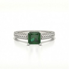 Princess Emerald Rings