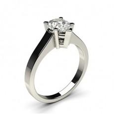 4 Prong Setting Medium Engagement Ring - CLRN2_02
