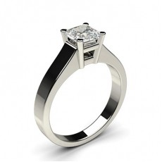 4 Prong Setting Large Engagement Ring - CLRN2_01