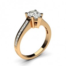 Diamantring in einer Krappenfassung mit medium Schulter Diamanten - CLRN2_11