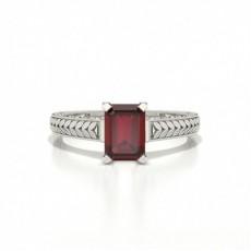 Emeraude Bagues Diamant Rubis