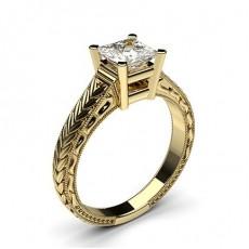 Großer Diamanten Verlobungsring in einer Krappenfassung - CLRN2_03