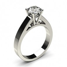 4 Prong Setting Large Engagement Ring - CLRN4_01