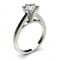 6 Prong Setting Thin Engagement Ring - CLRN6_03