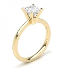 White Gold Round Diamond Engagement Ring - CLRN20_03