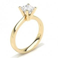 White Gold Round Diamond Engagement Ring - CLRN20_02