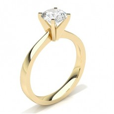 4 Prong Setting Medium Engagement Ring - CLRN20_02