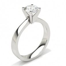 4 Prong Setting Large Engagement Ring (Available from 0.20ct. to 3.00ct.)