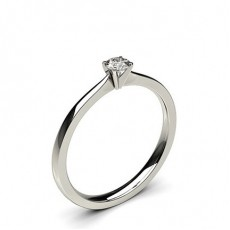 Platinum Promise Diamond Rings
