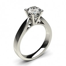 4 Prong Setting Large Engagement Ring - CLRN23_01