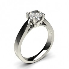 4 Prong Setting Large Engagement Ring - CLRN25_01