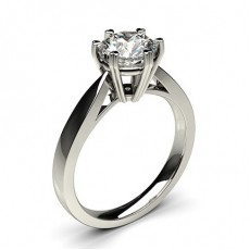 6 Prong Setting Medium Engagement Ring - CLRN26_02