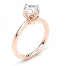 White Gold Diamond Engagement Ring - CLRN27_03