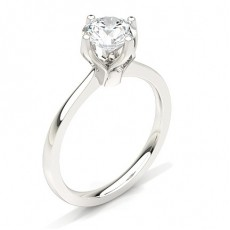 White Gold Diamond Engagement Ring (Available from 0.20ct. to 3.00ct.)