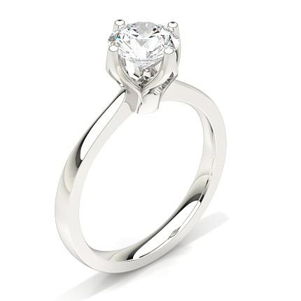 Buy White Gold Diamond Engagement Ring line UK Diamonds Factory