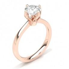 White Gold Diamond Engagement Ring - CLRN27_02