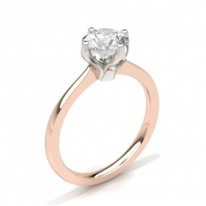 4 Prong Setting Medium Engagement Ring - CLRN27_02