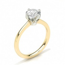 4 Prong Setting Medium Engagement Ring - CLRN27_02