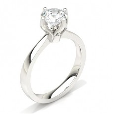 4 Prong Setting Large Engagement Ring (Available from 0.20ct. to 2.00ct.)