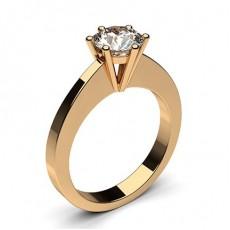 6 Prong Setting Medium Engagement Ring - CLRN31_01