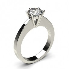 6 Prong Setting Medium Engagement Ring - CLRN31_01