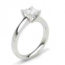 Bague de fiançailles standard solitaire diamant serti 4 griffes rondes - CLRN35_02