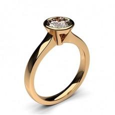 Full Bezel Setting Medium Engagement Ring - CLRN36_02