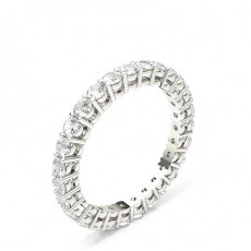 Alliance tour complet diamant rond serti 4 griffes - HG0564_P4