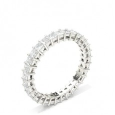 4 Prong Setting Full Eternity Diamond Ring - CLRN37_01