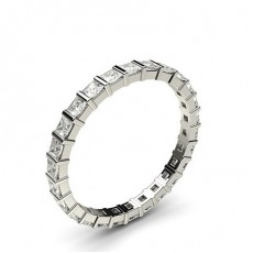 Eternity Diamant Ring in einer Balkenfassung - CLRN39_03