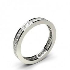 Channel Setting Full Eternity Diamond Ring - HG0498_P13