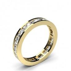 Yellow Gold Anniversary Diamond Rings