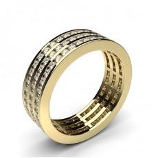 Channel Setting Full Eternity Diamond Ring - HG0587_44