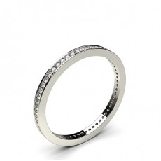 Pave Setting Full Eternity Diamond Ring - CLRN44_02