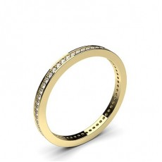 Pave Setting Full Eternity Diamond Ring - CLRN44_02