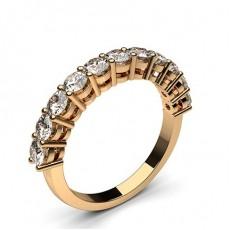 Halb Eternity Diamant Ring in einer Krappenfassung - CLRN47_01