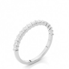 Halb Eternity Diamant Ring in einer Balkenfassung - CLRN49_04
