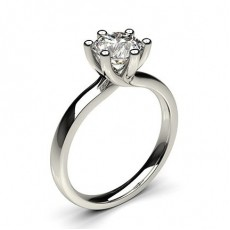 Bague de fiançailles solitaire diamant rond serti 6 griffes - CLRN59_02
