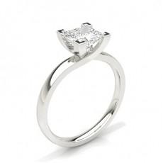 Bague de fiançailles solitaire diamant serti 4 griffes - CLRN60_02