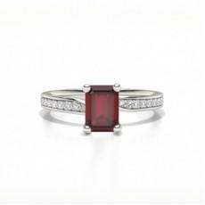 Smaragd Rubin Diamantringe