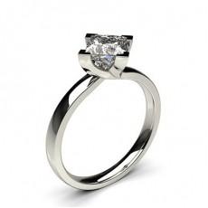 Bague de fiançailles solitaire diamant serti 4 griffes - CLRN62_02