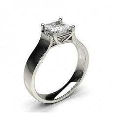 Bague de fiançailles solitaire diamant serti 4 griffes - CLRN63_04