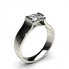 Bague de fiançailles solitaire diamant serti rail - CLRN67_03
