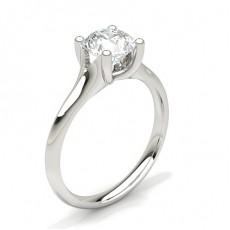 Diamantenring in einer Krappenfassung - CLRN69_01