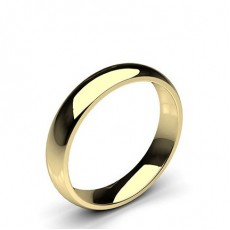 Low Dome Comfort Fit Classic Plain Wedding Band - CLRN71_02